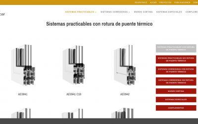 ALCAR presenta su nueva página web